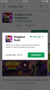 How to Top Up on Google Play using Globe prepaid or postpaid