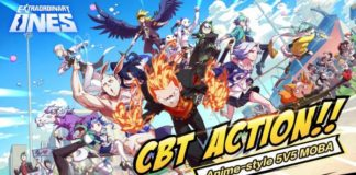 Anime MOBA Extraordinary ones