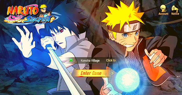 Naruto Slugfest: The world's first Naruto 3D MMO Open World