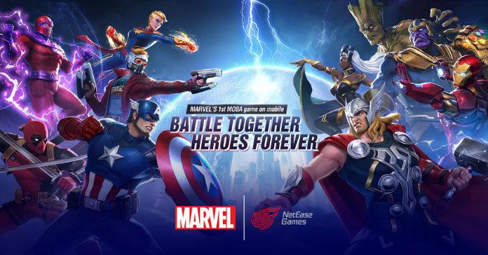 Marvel Super War MOBA Game