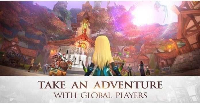 Mobile MMORPG World of Kings