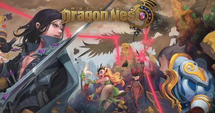 World of Dragon Nest SEA