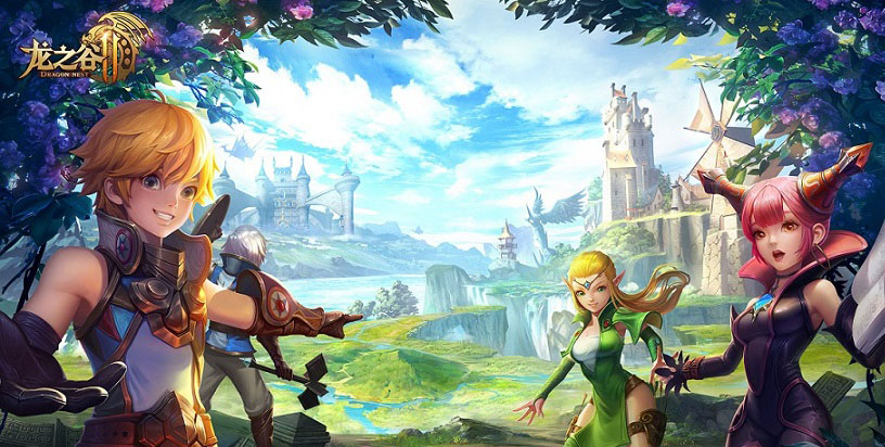 Dragon Nest 2 A Brand New Mobile Arpg To Be Published By Tencent Games In China