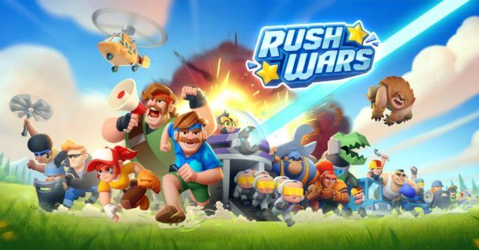 Rush Wars Soft launch