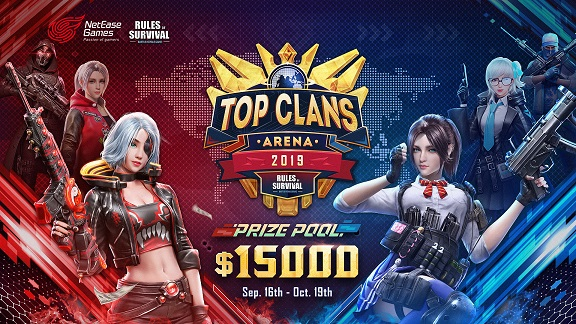 RoS Top Clans Arena