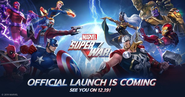 Marvel Super War Official Release