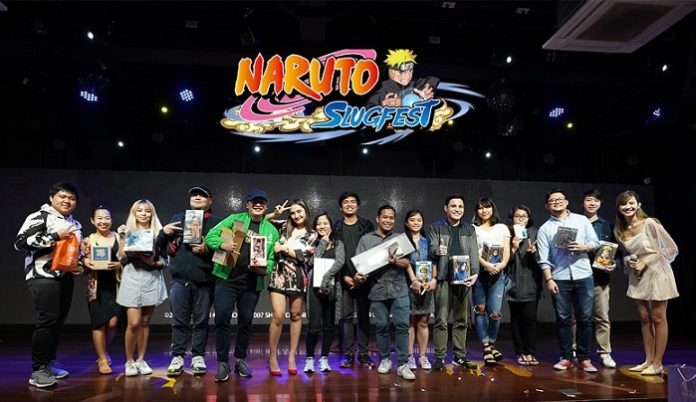 NARUTO SLUGFEST MEDIA LAUNCH