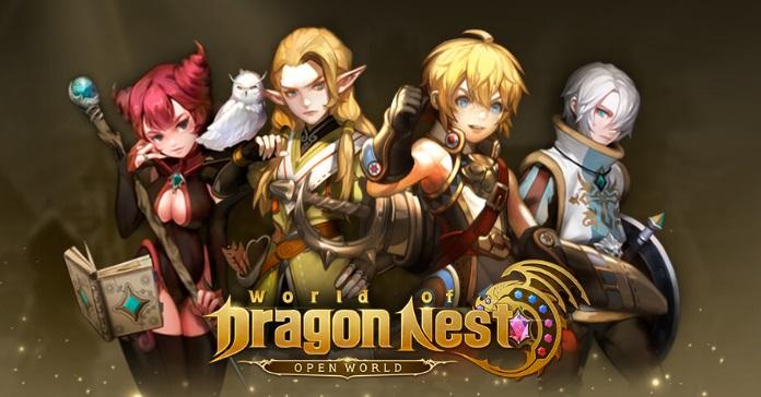 World of Dragon Nest Register