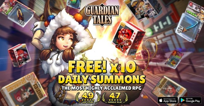 Guardian Tales Giveaway