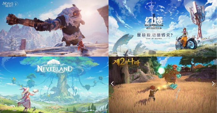 Upcoming Open World Mobile Mmorpgs Similar To Genshin Impact S Anime Style